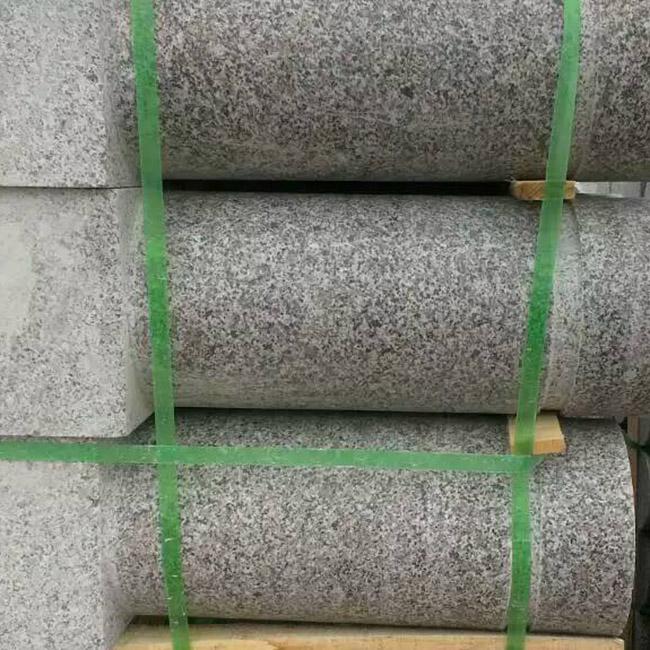 石材挡车柱加工